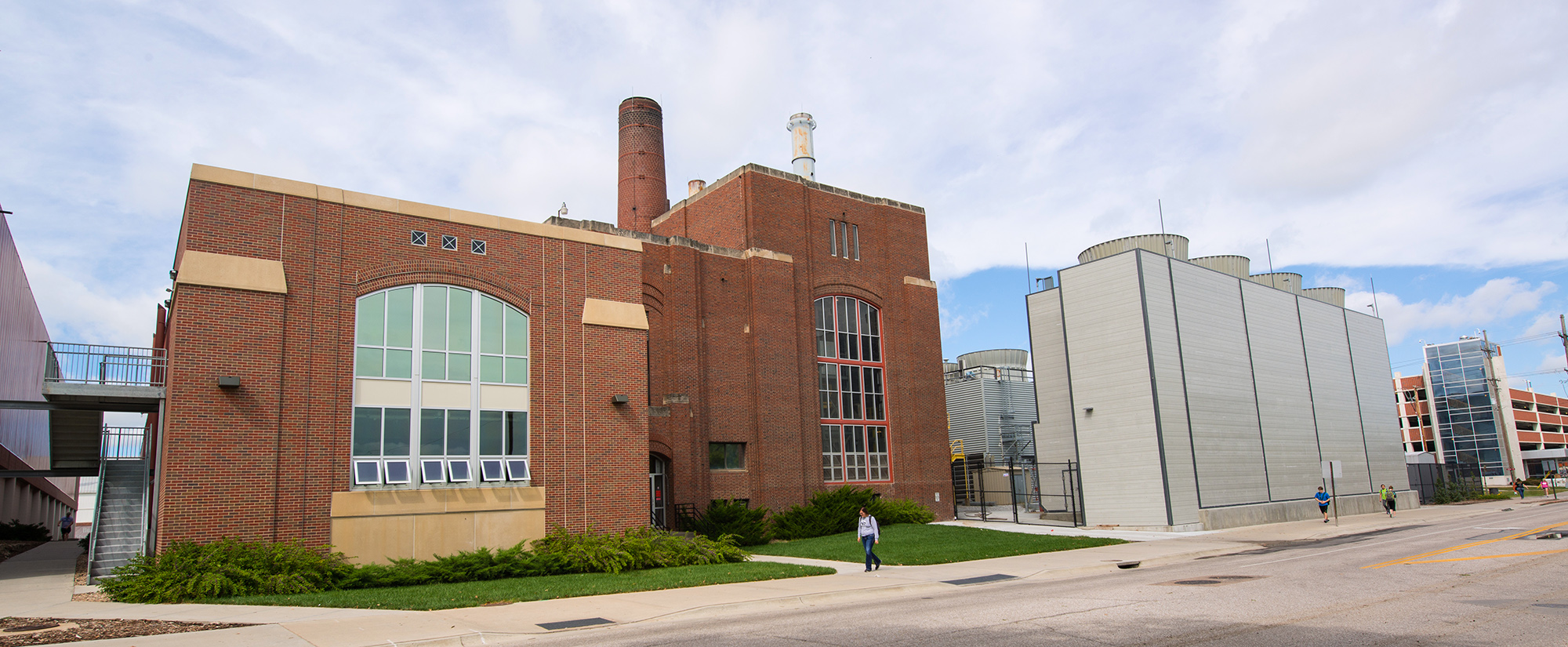 City Campus Utility Plant with new cooling towers