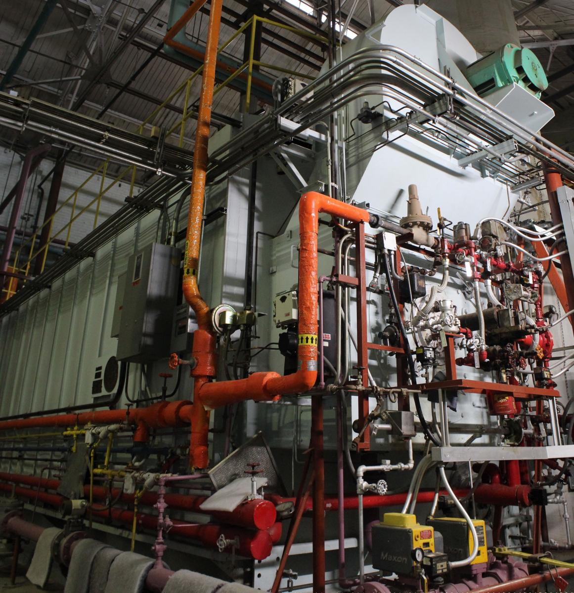 East Campus Utility Plant Utility Services University