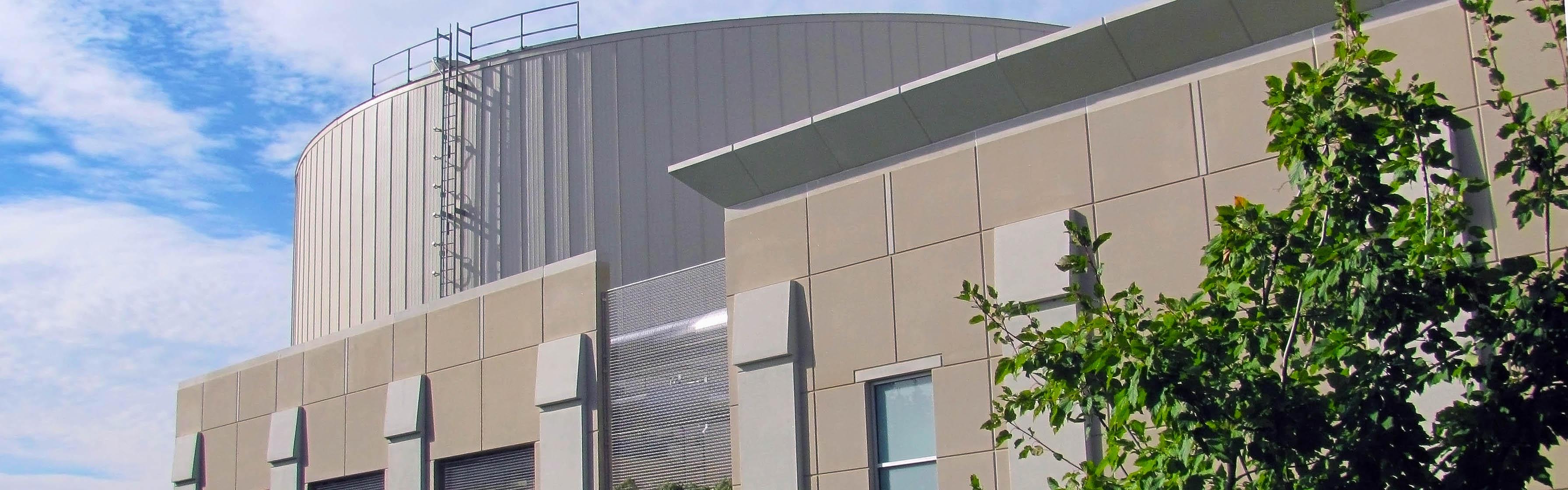 East Campus TES building exterior